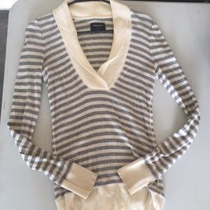 Striped sweater American Eagle size M